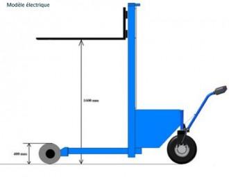 Gerbeur élévateur manuel ou électrique - Devis sur Techni-Contact.com - 3