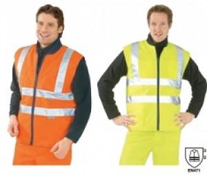 Gilet haute visibilité en polyester - Devis sur Techni-Contact.com - 2