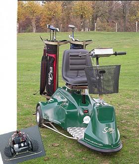 Golfette scooter électrique - Devis sur Techni-Contact.com - 1