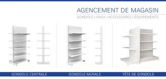 Gondole étagère de magasins - Devis sur Techni-Contact.com - 1