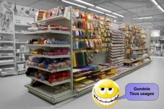 Gondole pour magasin - Devis sur Techni-Contact.com - 2