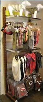Gondole pour textile - Devis sur Techni-Contact.com - 1