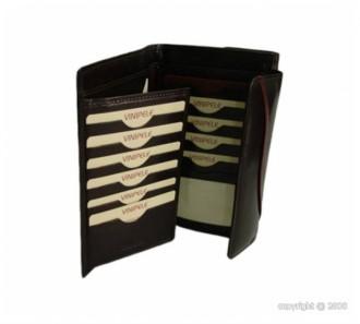 Grand portefeuille pour femme cuir marron - Devis sur Techni-Contact.com - 2