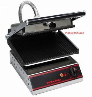 Grill électronique inox 2200 W - Devis sur Techni-Contact.com - 1