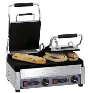 Grill panini double à plaques de cuisson lisses - Devis sur Techni-Contact.com - 1
