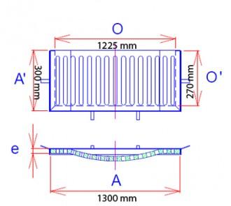 Grille avaloir concave à cadre C250 - Devis sur Techni-Contact.com - 2