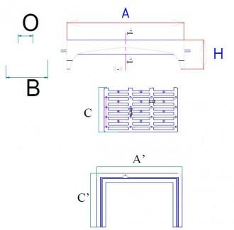 Grille avaloir de chaussée PMR en fonte C250 - Devis sur Techni-Contact.com - 2