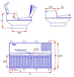 Grille avaloir TGAS D 400 - Devis sur Techni-Contact.com - 6