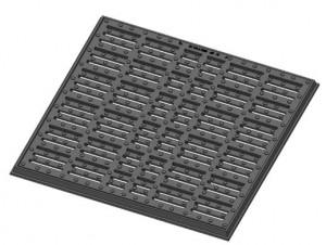 Grille caniveau plate à cadre C 250 - Devis sur Techni-Contact.com - 2