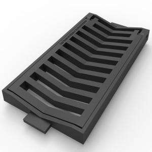 Grille concave « v »- C-250  - Devis sur Techni-Contact.com - 1
