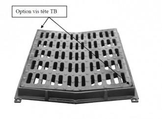 Grille de caniveau verrouillable E 600 - Devis sur Techni-Contact.com - 1
