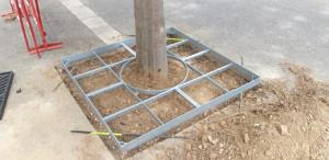 Grille de protection d'arbre en fonte et cadre en acier galvanisé - Devis sur Techni-Contact.com - 3