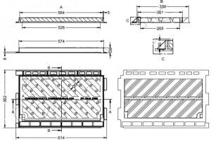 Grille et cadre inclinable 250KN - Devis sur Techni-Contact.com - 2