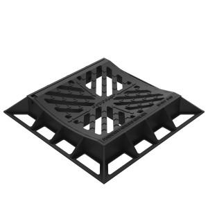 Grille inclinable concave en fonte ductile - Devis sur Techni-Contact.com - 1