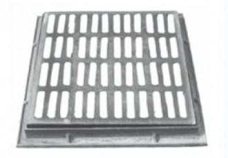 Grille plate à cadre D 400 - Devis sur Techni-Contact.com - 1