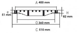 Grille plate à cadre D 400 - Devis sur Techni-Contact.com - 2
