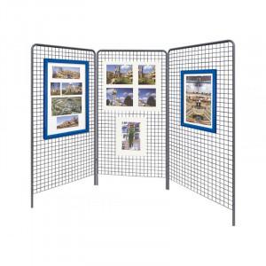 Grilles d'exposition en maille - Devis sur Techni-Contact.com - 1