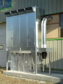 Groupe ensacheur pour filtration bois ou plastique - Devis sur Techni-Contact.com - 2
