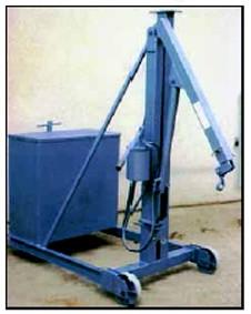 Grue atelier hydraulique 500 kg - Devis sur Techni-Contact.com - 1