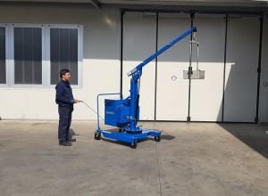 Grue atelier mobile 400 kg - Devis sur Techni-Contact.com - 1
