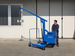 Grue atelier mobile 400 kg - Devis sur Techni-Contact.com - 11