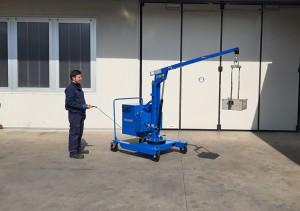 Grue atelier mobile 400 kg - Devis sur Techni-Contact.com - 2