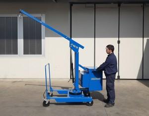 Grue atelier mobile 400 kg - Devis sur Techni-Contact.com - 3