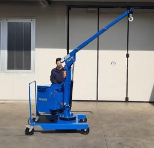 Grue atelier mobile 400 kg - Devis sur Techni-Contact.com - 4
