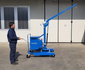 Grue atelier mobile 400 kg - Devis sur Techni-Contact.com - 5