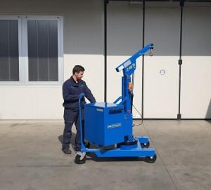 Grue atelier mobile 400 kg - Devis sur Techni-Contact.com - 7