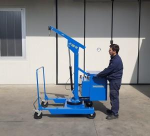 Grue atelier mobile 400 kg - Devis sur Techni-Contact.com - 8