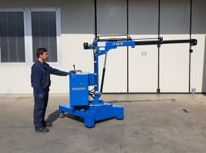 Grue atelier mobile 450 kg - Devis sur Techni-Contact.com - 1