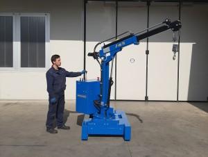 Grue atelier mobile 450 kg - Devis sur Techni-Contact.com - 10