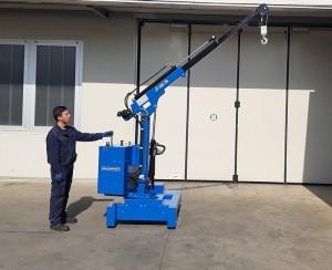 Grue atelier mobile 450 kg - Devis sur Techni-Contact.com - 11