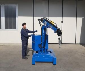Grue atelier mobile 450 kg - Devis sur Techni-Contact.com - 2