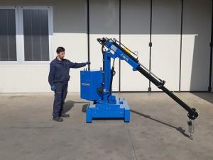 Grue atelier mobile 450 kg - Devis sur Techni-Contact.com - 3