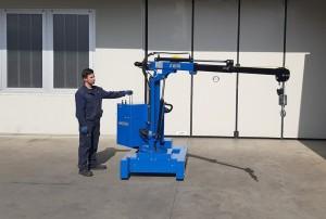 Grue atelier mobile 450 kg - Devis sur Techni-Contact.com - 4