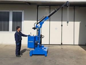 Grue atelier mobile 450 kg - Devis sur Techni-Contact.com - 6