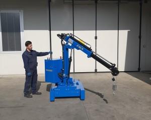 Grue atelier mobile 450 kg - Devis sur Techni-Contact.com - 7