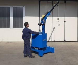 Grue atelier mobile 450 kg - Devis sur Techni-Contact.com - 9