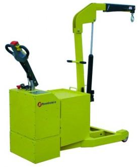 Grue contre-poids électrique - Devis sur Techni-Contact.com - 1