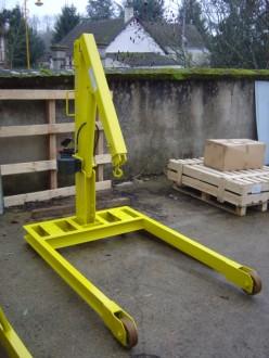 Grue d'atelier 1 tonne - Devis sur Techni-Contact.com - 1
