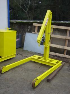 Grue d'atelier 1 tonne - Devis sur Techni-Contact.com - 2