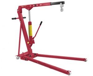 Grue d'atelier pliable avec châssis bas - Devis sur Techni-Contact.com - 1