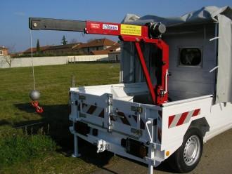 Grue Electrique F 500 - Devis sur Techni-Contact.com - 1