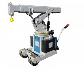 Grue industrielle à traction électrique - Devis sur Techni-Contact.com - 2