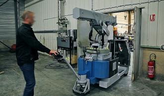 Grue industrielle à traction électrique - Devis sur Techni-Contact.com - 3