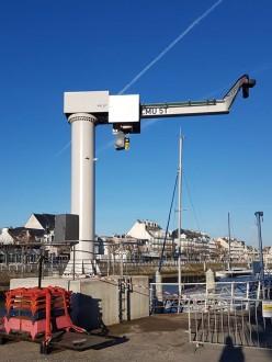 Grue potence pour le levage de bateaux - Devis sur Techni-Contact.com - 2