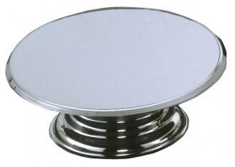 Guéridon pâtissier de diamètre 36 cm - Devis sur Techni-Contact.com - 1