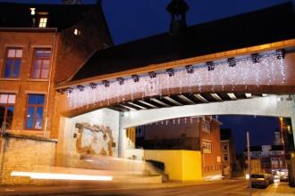 Guirlande lumineuse rideau stalactite LED - Lumière flash - Devis sur Techni-Contact.com - 2